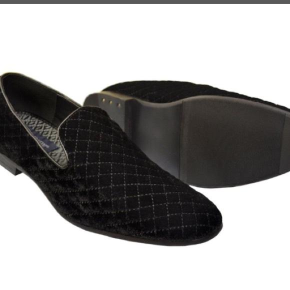 Quilted Velvet Loafers | Poshmark